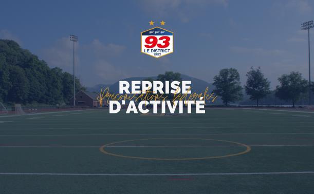 Covid 19 : le guide de reprise du football amateur à partir du 19 mai 2021