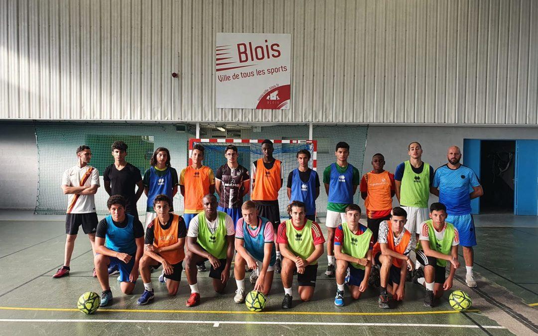 En images : les U18 du Fc Livry-Gargan en stage à Blois