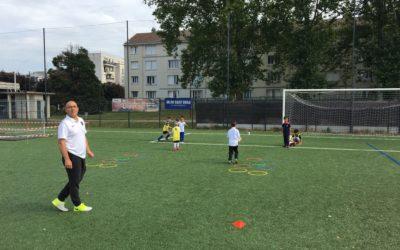 En images : l'école du FC Livry Gargan en mouvement