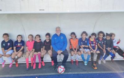 La nouvelle section féminine du FC Livry Gargan sur le terrain